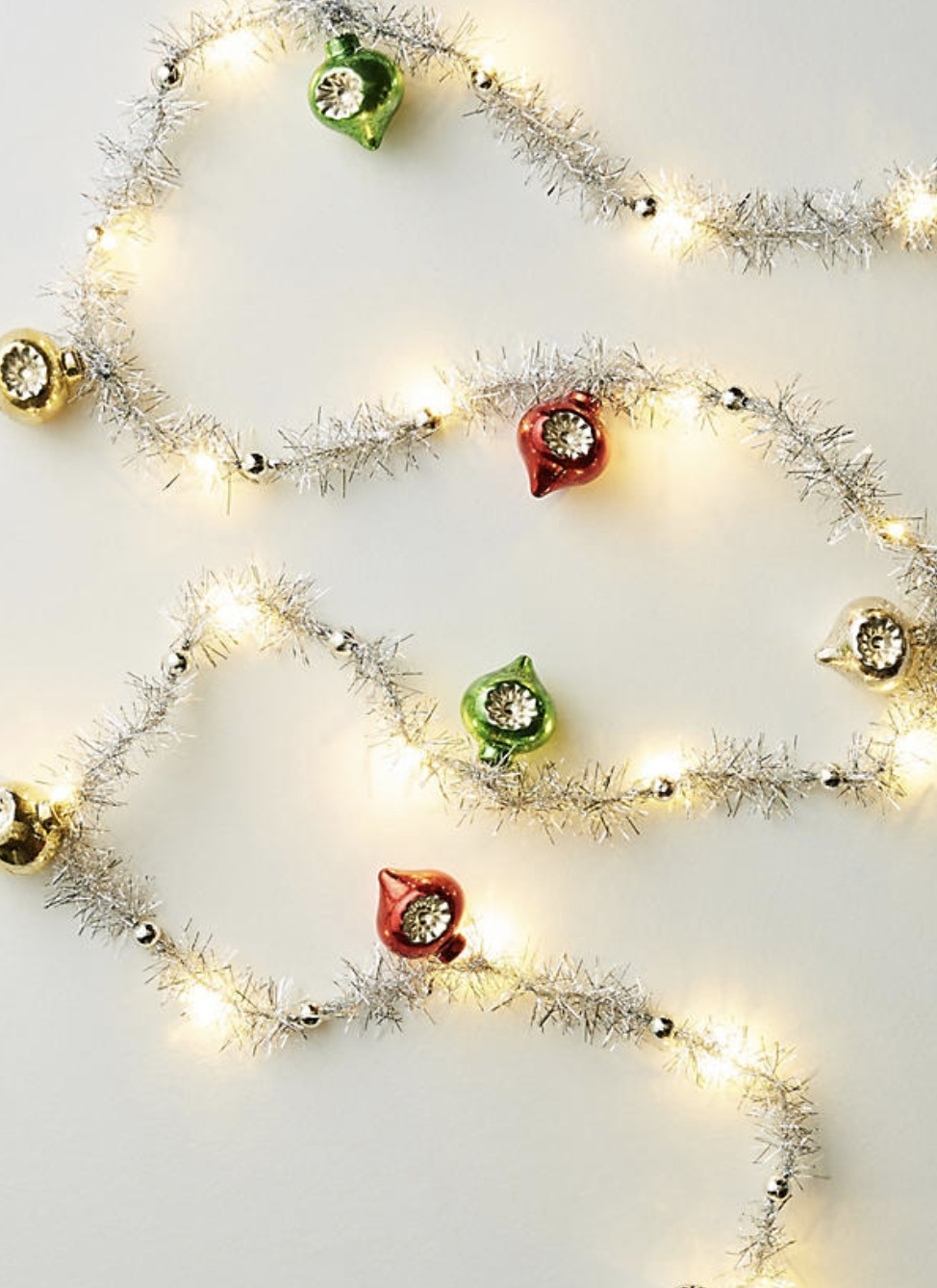 Retro Tinsel Garland