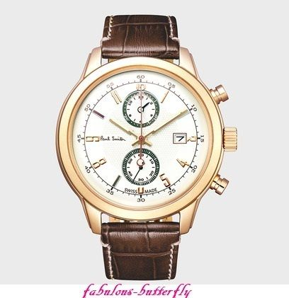 国内発送 Paul Smith Cambridge Chronographメンズ ウォッチ GD