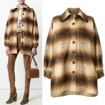 17-18AW C267 OVERSIZED PLAID CPO JACKET