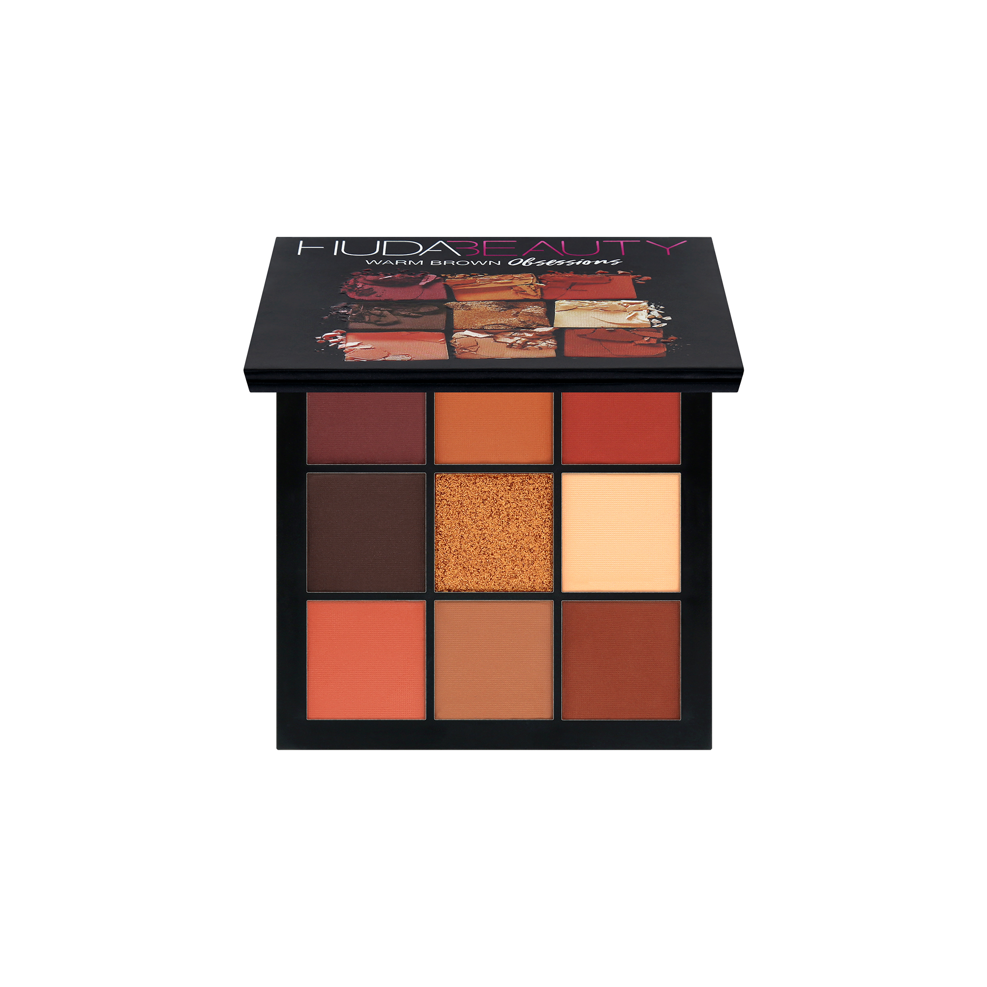 OBSESSIONS PALETTE WARM BROWN