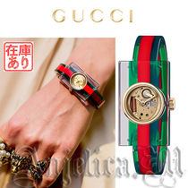 ★在庫あり★GUCCI Plexiglas Red and Green Ladies YA143503