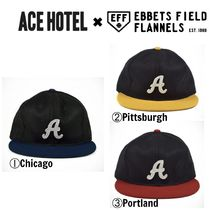 【ACE HOTEL】☆Ebbets Field☆人気コラボ☆WOOL CITY CAP