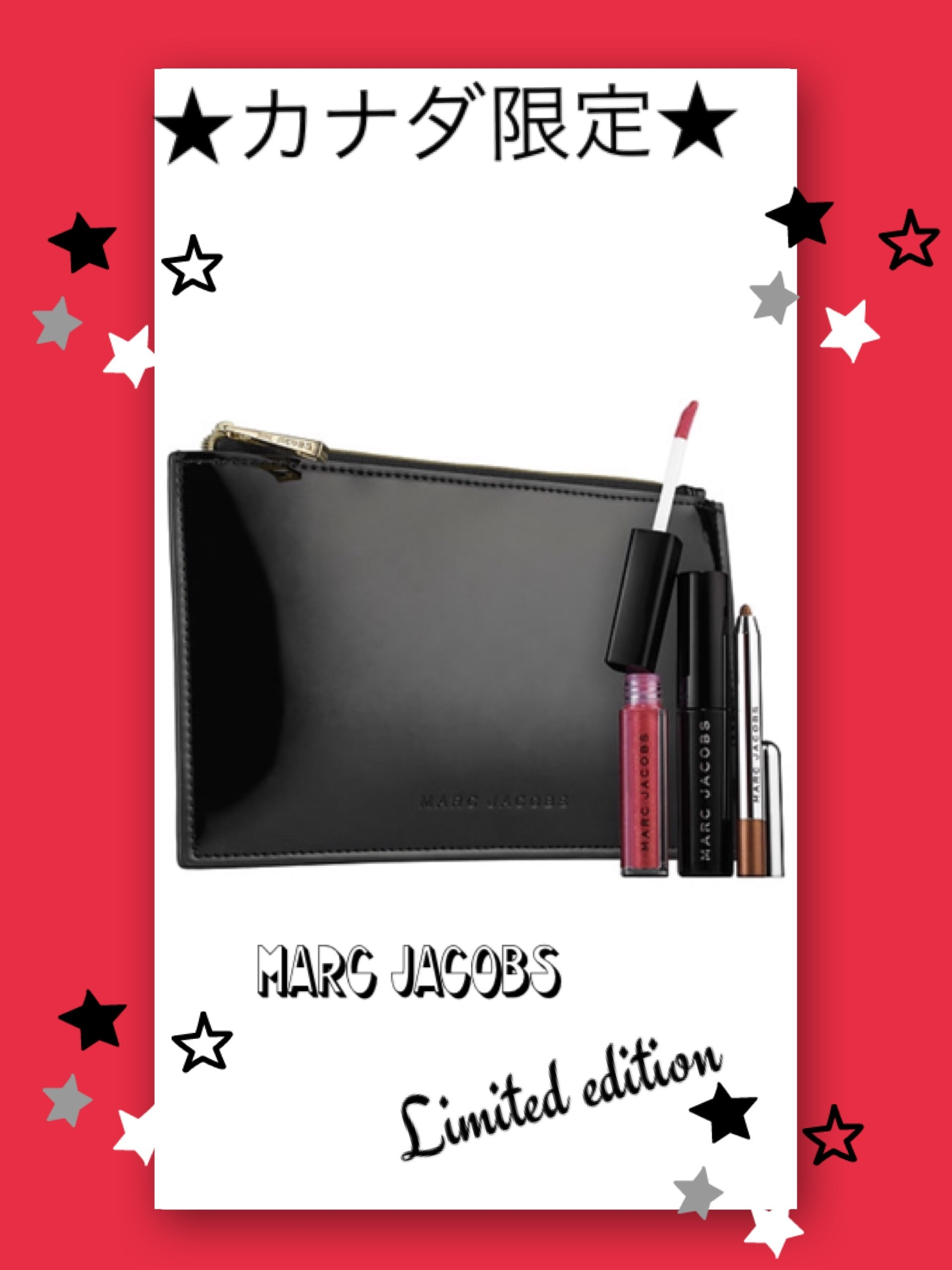 カナダ限定セット☆MARC JACOBS☆Irresistible Beauty