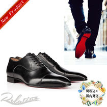 関税☆送料込み【Christian Louboutin】Greggo leather shoes