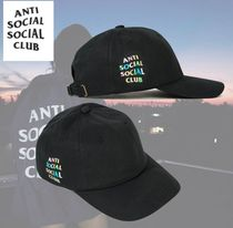 限定 ANTI SOCIAL SOCIAL CLUB Rainy Cap キャップ ブラック