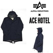 【ACE HOTEL】☆Alpha Industries☆限定コラボ☆FISHTAIL PARKA