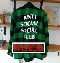 限定 ANTI SOCIAL SOCIAL CLUB Frog FLANNEL ネルシャツ