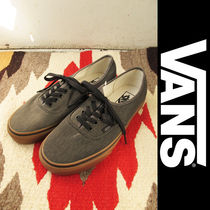 Vans(バンズ):Authentic/Washed Canvas/Black/Gum