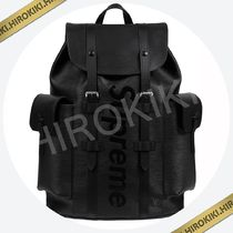 Louis Vuitton Supreme Christopher Backpack バックパック 黒