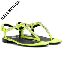 ☆BALENCIAGA(バレンシアガ)☆Giant Stud Sandal - Yellow