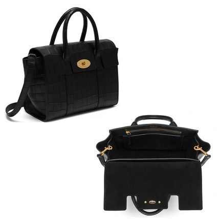Mulberry トートバッグ Mulberry☆Small Bayswater-Croc Print- クロコダイル柄(3)