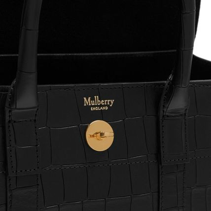 Mulberry トートバッグ Mulberry☆Small Bayswater-Croc Print- クロコダイル柄(4)