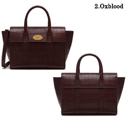 Mulberry トートバッグ Mulberry☆Small Bayswater-Croc Print- クロコダイル柄(6)