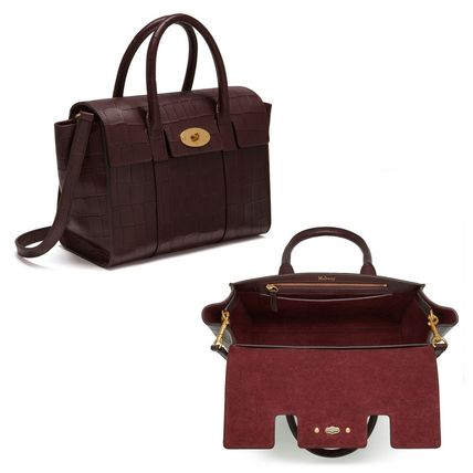 Mulberry トートバッグ Mulberry☆Small Bayswater-Croc Print- クロコダイル柄(7)