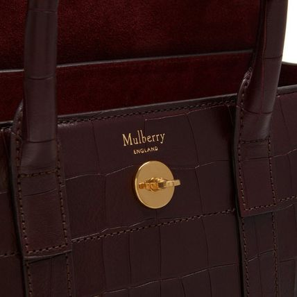 Mulberry トートバッグ Mulberry☆Small Bayswater-Croc Print- クロコダイル柄(8)