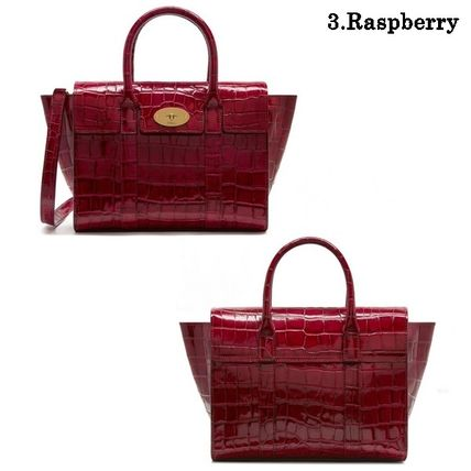 Mulberry トートバッグ Mulberry☆Small Bayswater-Croc Print- クロコダイル柄(10)