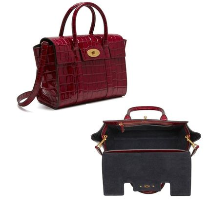 Mulberry トートバッグ Mulberry☆Small Bayswater-Croc Print- クロコダイル柄(11)