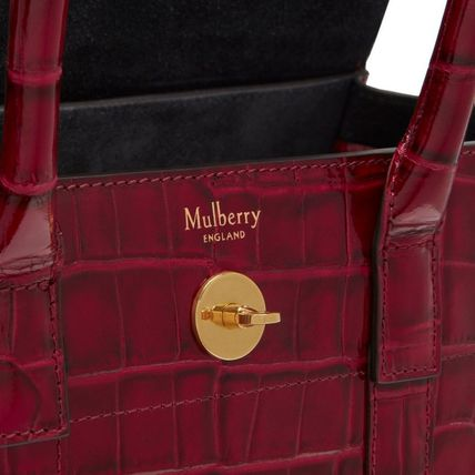 Mulberry トートバッグ Mulberry☆Small Bayswater-Croc Print- クロコダイル柄(12)