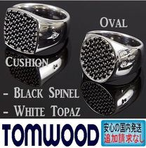 北欧発★Tom Wood★Pinkie Black Spinel Ring