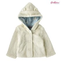 Cath Kidston★BABY HOODED JACKET OFF WHITE 3-18M