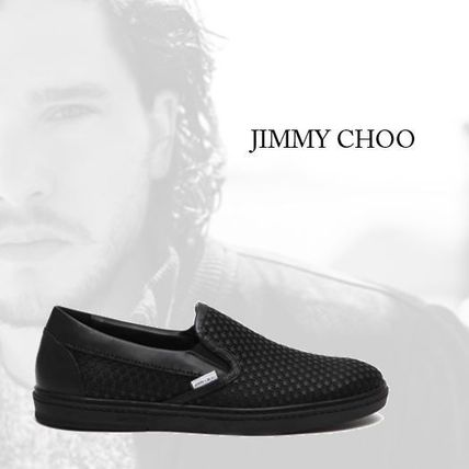【Jimmy Choo】'Grove amr' slip-on with mini rubber stars