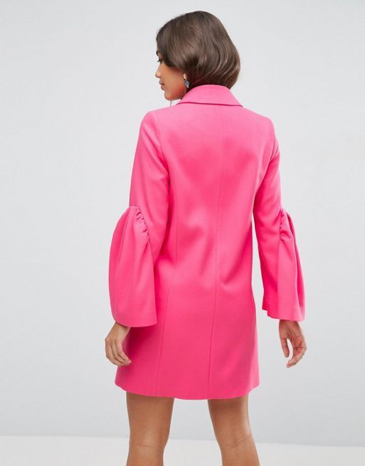 日本未入荷 ASOS Occasion Coat with Statement Sleeve コート