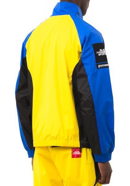 【Chris Brown愛用】新作17FW☆海外限定☆BP FLAG ZIP UP JACKET