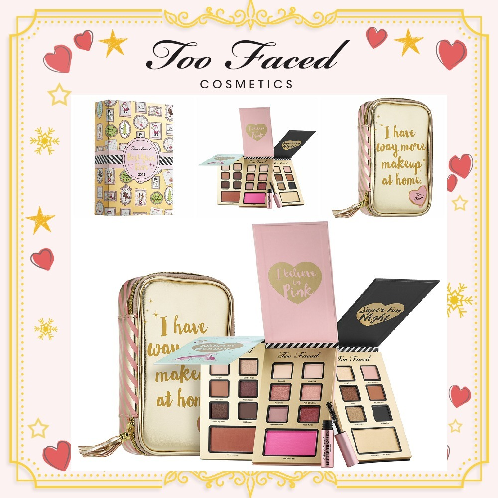 ホリデー限定 Too Faced★Best Year Ever Makeup Collection