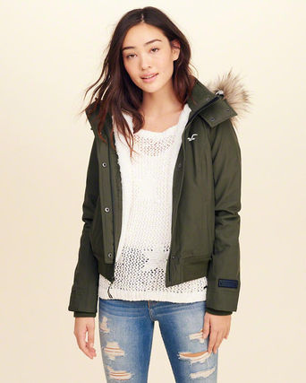 新作★Hollister All Weather Stretch Bomber Jacket★