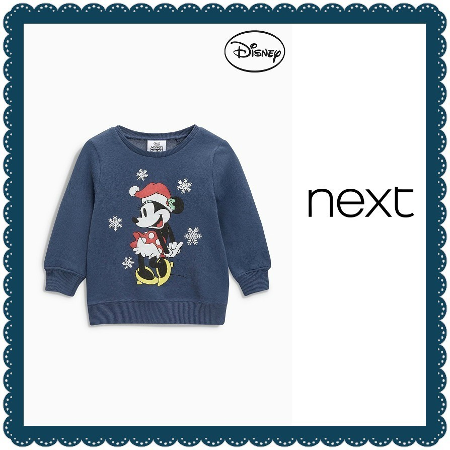NEXT女の子用☆Minnie Mouse クルートップ(3ヵ月〜6歳)156-051