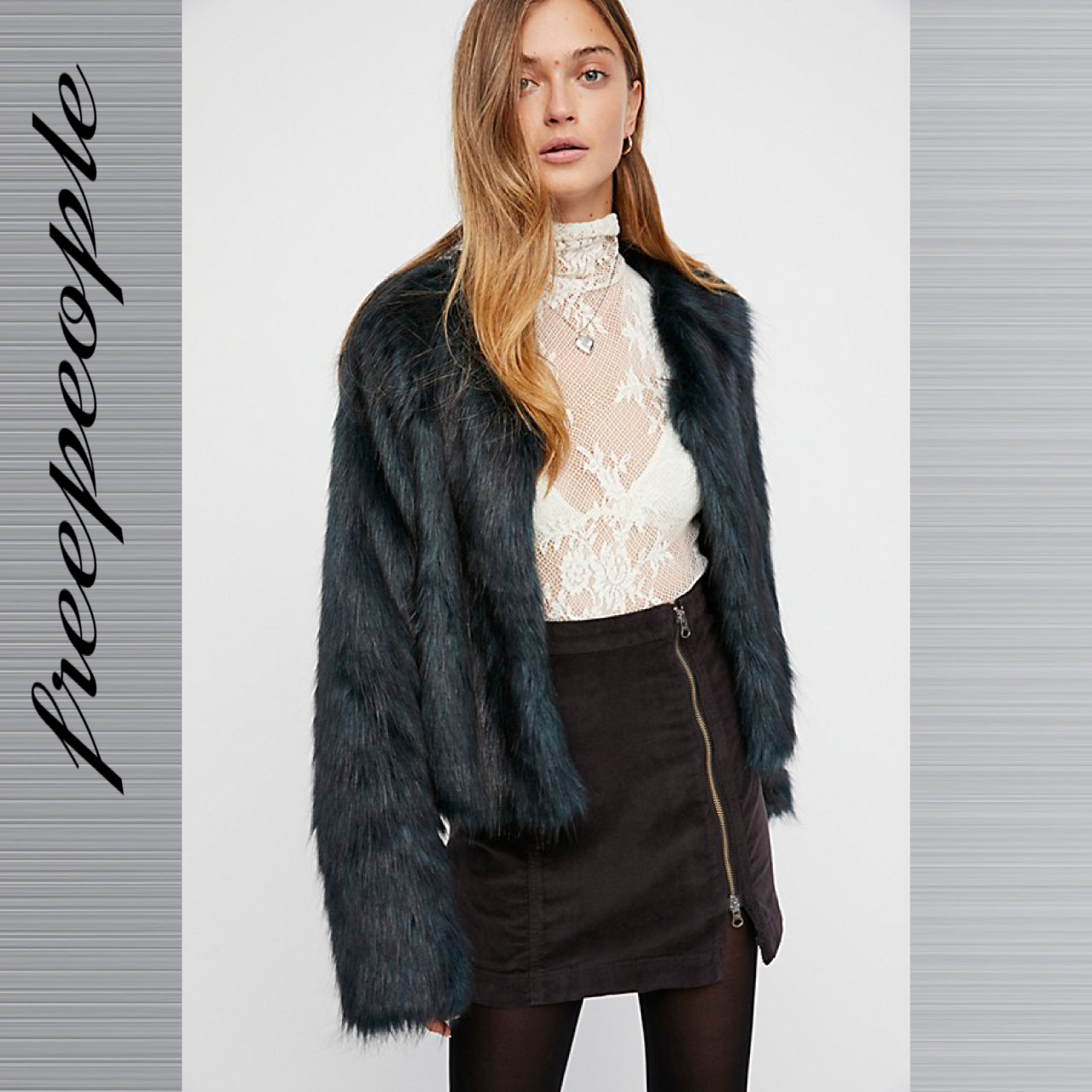 Free People フリーピープル This Way Or That ミニスカート