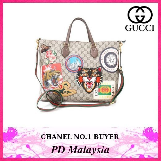 ★GUCCI/グッチ★プリント×2WAYバッグ★レア★