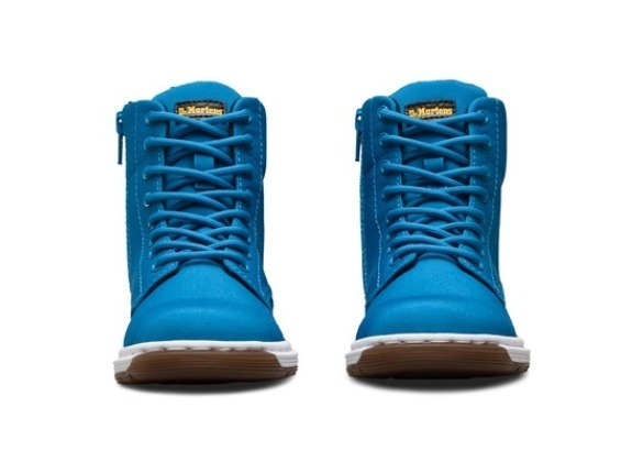 【Dr.Martens】 【親子コーデ】Malky Lace Boot ブルー