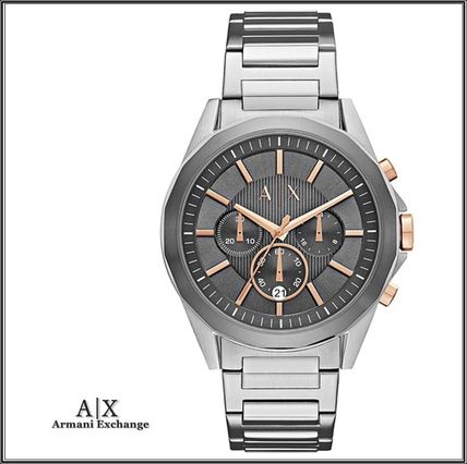 Armani Exchange★AX2606 クロノグラフ グレー文字盤 腕時計