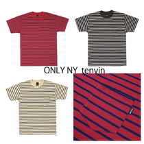 17-18AW入手困難 !ONLY NY Eldridge Stripe Pocket T-Shirt 3色
