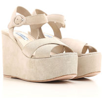 Suede Leather Wedge Sandal ウェッジサンダル
