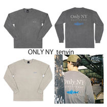 17-18AW入手困難 ONLY NY☆Guideline L/S T-Shirt 2色 国内発送