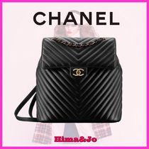 2018Cruise☆CHANEL☆新作シェブロン バックパック