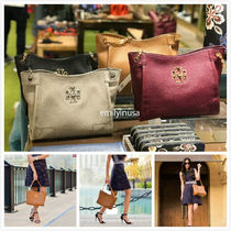 新色SALE! TORY BURCH★BRITTEN SMALL SLOUCHY TOTE