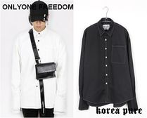 【ONLYONE FREEDOM】Stitch Over Cuffs Shirts / 2color