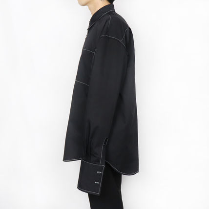 ONLYONE FREEDOM シャツ 【ONLYONE FREEDOM】Stitch Over Cuffs Shirts / 2color(7)
