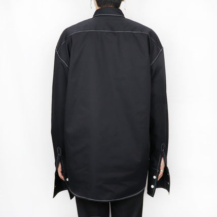 ONLYONE FREEDOM シャツ 【ONLYONE FREEDOM】Stitch Over Cuffs Shirts / 2color(8)