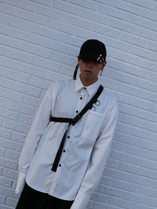 ONLYONE FREEDOM シャツ 【ONLYONE FREEDOM】Stitch Over Cuffs Shirts / 2color(14)