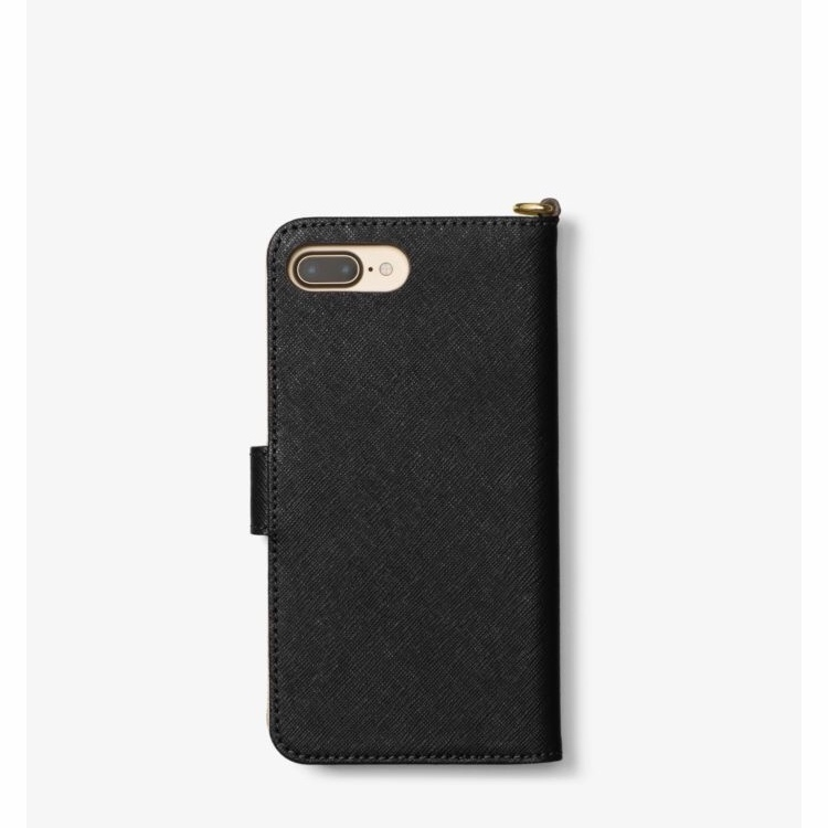 *国内発送* Michael Kors Saffiano Leather Folio iPhone7/8Plus
