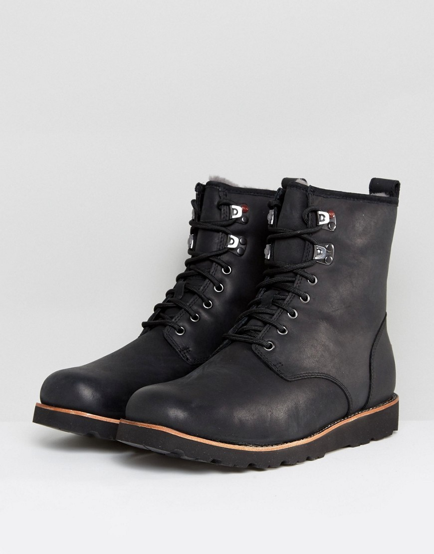 ◎送料込み◎ UGG Hannen Treadlite Waterproof Leather Boots