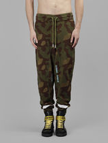 【関税負担】 OFF WHITE CAMOUFLAGE SWEATPANTS