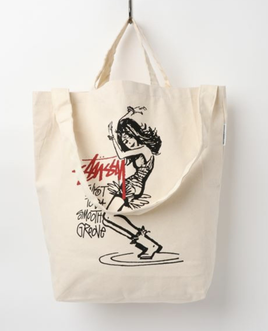 GS Canvas Art Tote Stussy Ver. Twist Girl