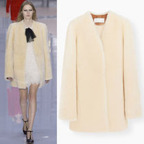 17-18AW C280 LOOK40 FLUFFY MOUTON DORE COAT