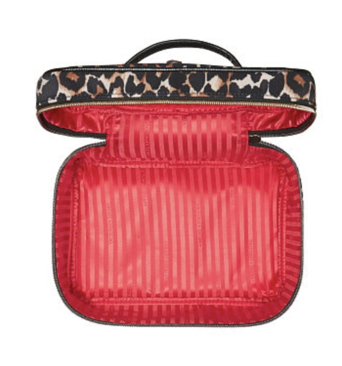Exotic Leopard Weekender Train Case