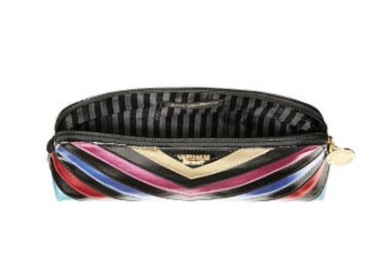 Victoria's Secret メイクポーチ  V-Quilt Rainbow On-The-Go Beauty Bag(4)